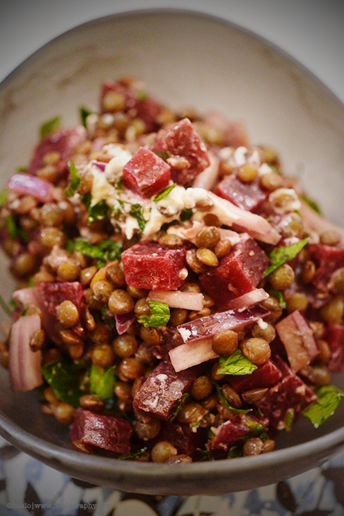 Puy Lentil and Beetroot Salad© by Haalo