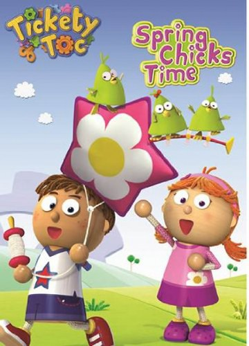 tickety toc: spring chicks time dvd