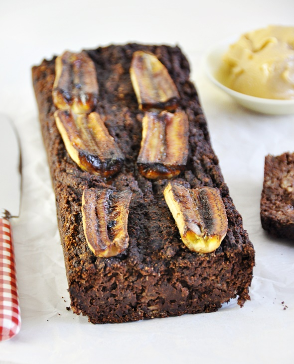 Flourless Chocolate & Banana Loaf, Vegan Friendly & Gluten Free
