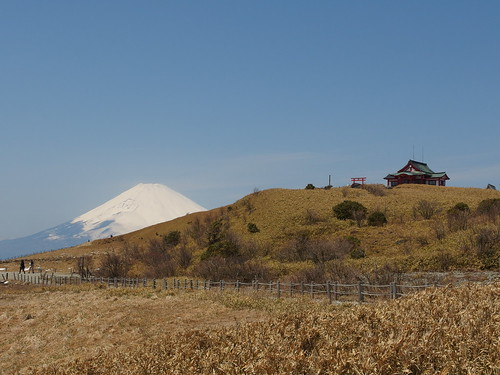 Mountain shrine @ Summit of Mount Komagadake @ Hakone