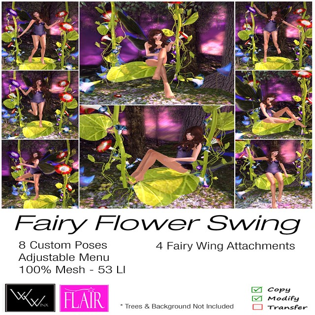 W. Winx & Flair - Fairy Flower Swing