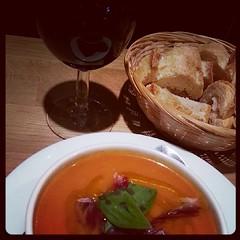 #Gazpacho é amor! #soup #sopa #soupe #Toulouse  #food #comida