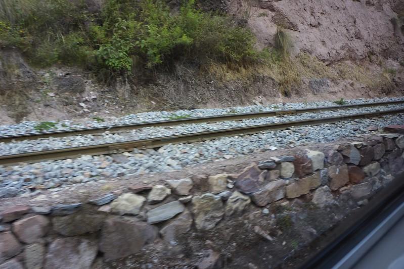 train to Aguas Calientes 13