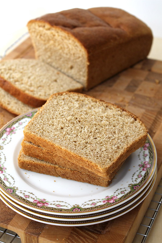 Whole Wheat Maple Oatmeal Bread http://www.katesshortandsweets.com