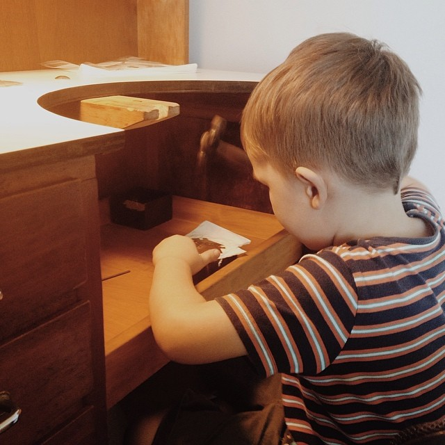 """Can I make Jewellery too, Mama?"" I love that my five year old wants me to teach him bench skills, and tells me he has Jewellery orders to make. :) #juniorjeweller"