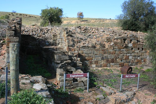 Ruins at Burra Copper Mine