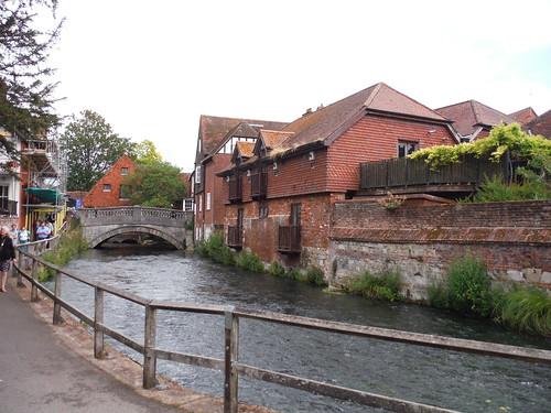 River Itchen with City Bridge