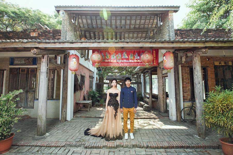 [自助婚紗] Apple & Carol / 老塘湖藝術村 & 七股鹽山