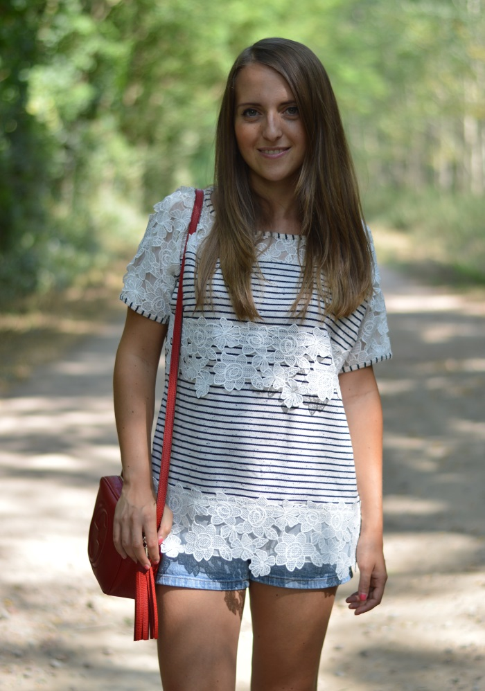 righe e pizzo, wildflower girl, fashion blog, estate (3)