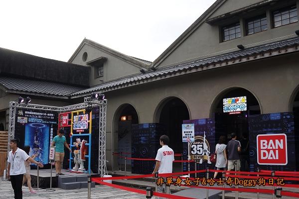 松山文創園區2015鋼彈模型博覽會35週年紀念活動08