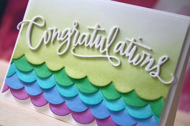 SSS-Congratulations die