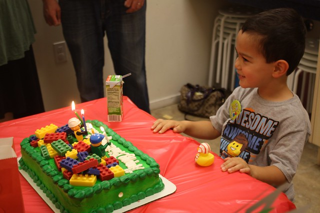 Vincent's 4th Birthday - Lego Theme