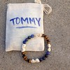 I was commissioned to make a custom bracelet for a most inspiring 7 year old who courageously performed his original song, that he and his buddies wrote, at @trilogysanctuary 's open mic night last week. Tommy fearlessly commanded the mic and the crowd wi