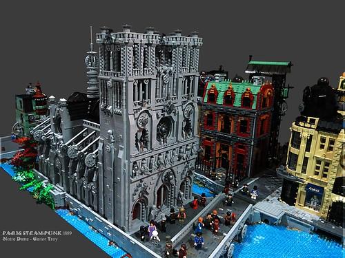 Paris Steampunk 1889 [WIP] - Notre Dame
