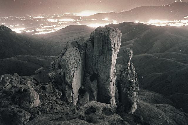 La Bufa por noche, Guanajuato, Mexico (2000)