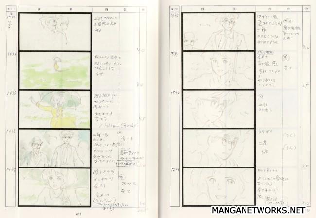 33122546305 89b0f251f8 o 16 Storyboards của Studio Ghibli sẽ khiến bạn muốn xem lại Movie ngay lập tức !!