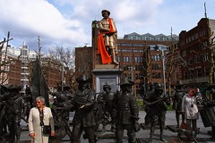 Rembrandt Square, Amsterdam, the Netherlands