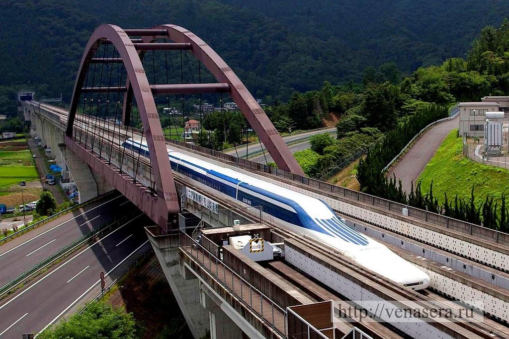 Поезд с линейным двигателем