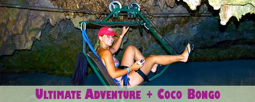 Ultimate Adventure Package + Coco Bongo