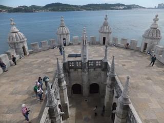 Belém Tower Algés yakın görüntü. tower portugal torre lisboa lisbon belem belém torredebelém belémtower belemlisboa