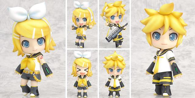 Nendoroid Kagamine Rin and Len
