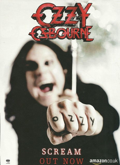 "Ozzy Osbourne ""Scream"" (Released 06/11/2010)"