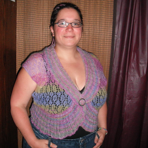 Angled-View-Angela-Knit-Shrug by Jessie-At-Home