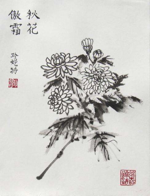 Chrysanthemum - Janet-Ferrier Robinson