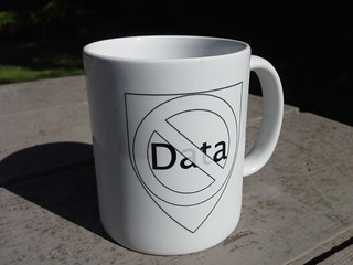 Data Shield mug