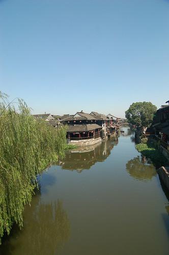 浙江西塘 安境橋上