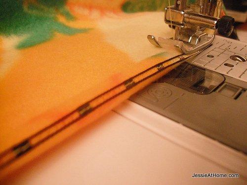stitch-down-hem