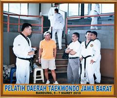 Choachng Clinic Taekwondo Jabar 2010