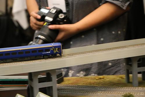 model train diorama Canon EOS 70D