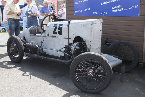 1922 GN Spider - wonderful to watch after 91 years of continuos racing