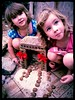 A Fairy house that Iona and Thea built