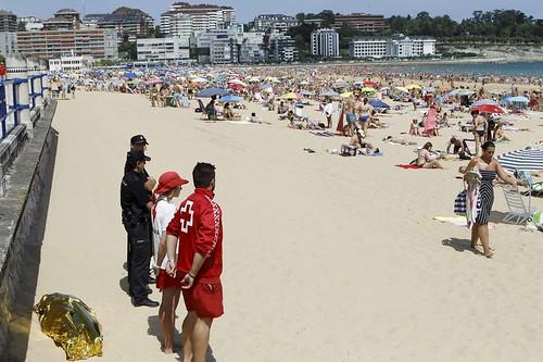 Santander renueva la certificaci�n ISO de todas sus playas