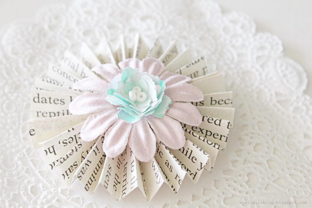 paper flower rosette
