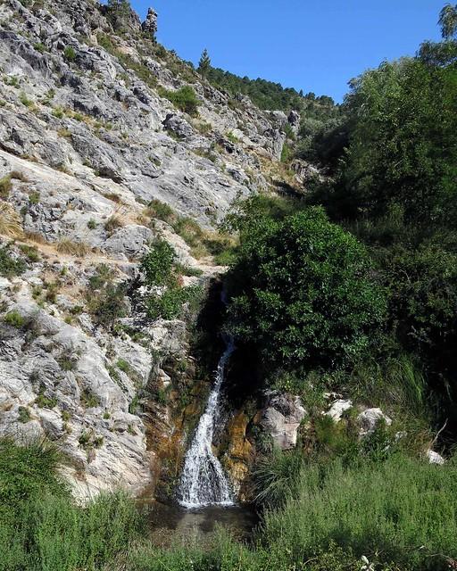 Río Darro - Cascada -