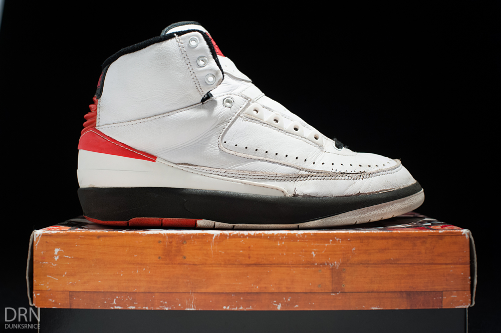 1995 White, Red, & Black II's.