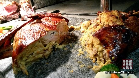 Diamond Hotel Buffet: Turducken Turkey