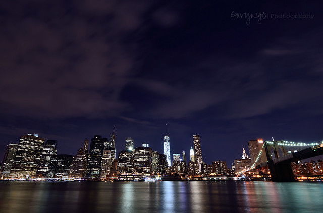 Lower Manhattan & the Brooklyn Bridge