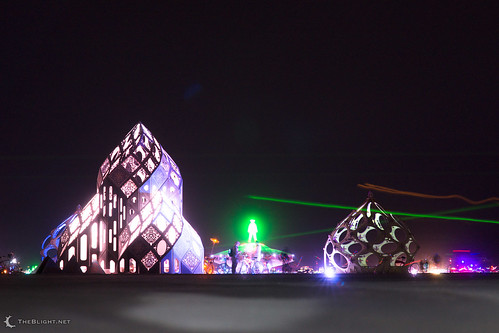 Zonotopia and the Quasicrystalline Conjunction at Burning Man 2013