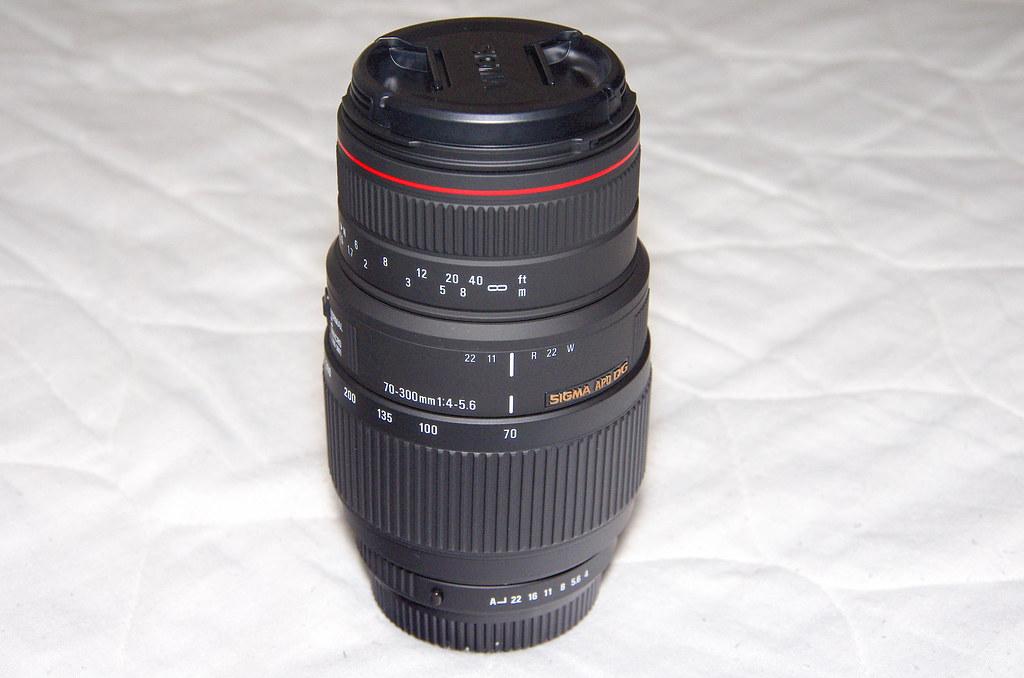SIGMA 70-300mm 超不專業開箱文