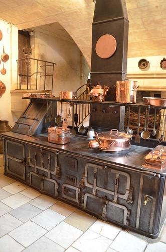 Chateau de Chenonceau stove