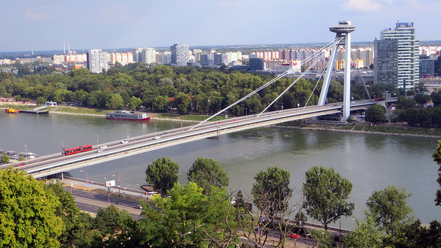 UFO Bridge, Bratislava, Slovakia