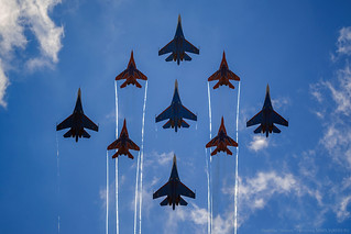 """""""Russian Knights"""" and """"Swifts"""""""