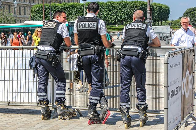 Policías de París