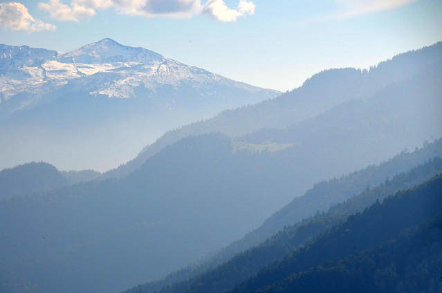 Valle de luz en Suiza