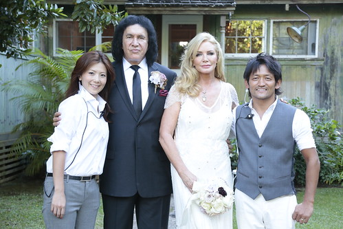 Gene Simmons and Shannon Tweed Wedding Photos