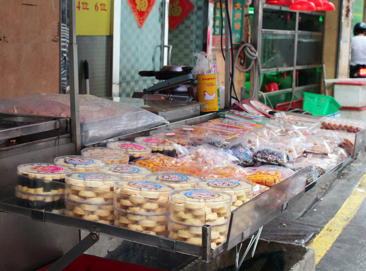 Macau street snacks